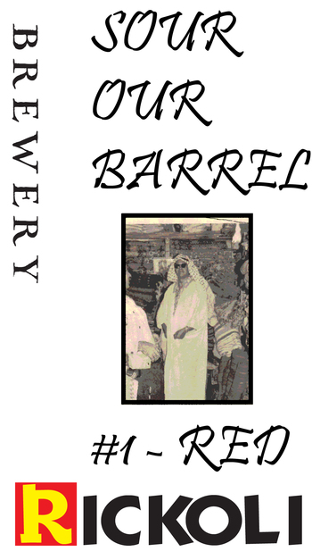 Label sour our barrel 1